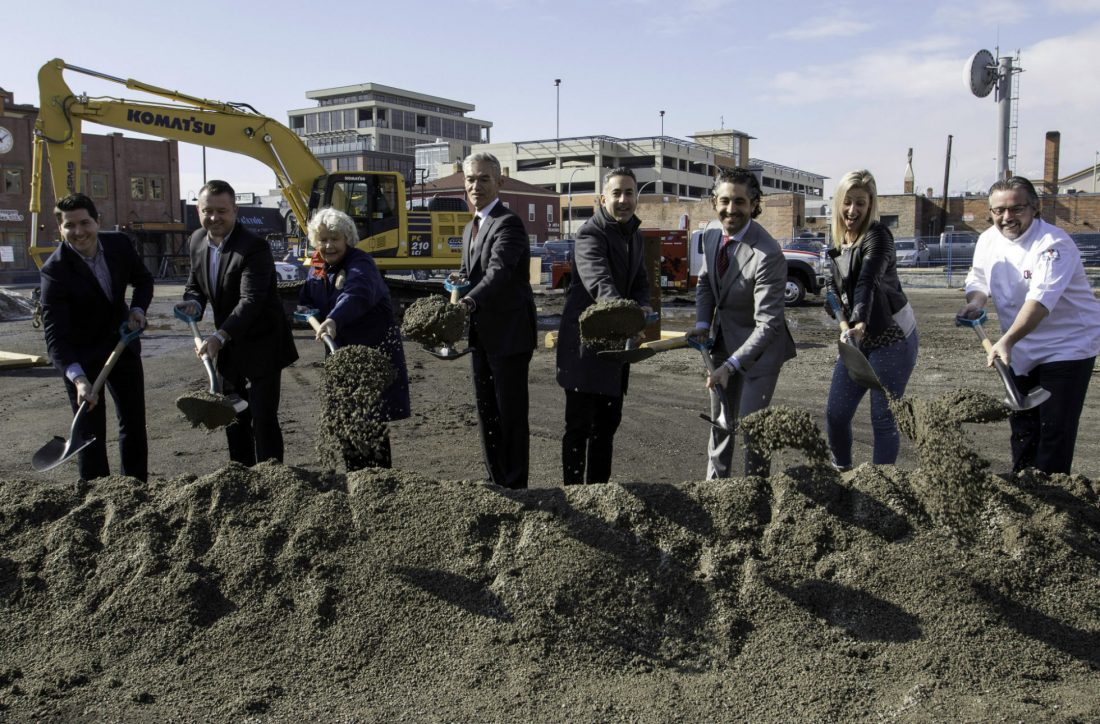 downtown condo groundbreaking