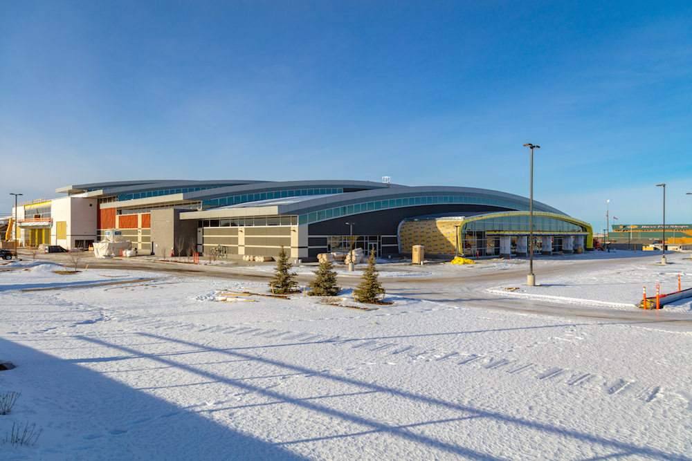 New Horizon Mall, the biggest multicultural mall in the Calgary region with more than 500 stores