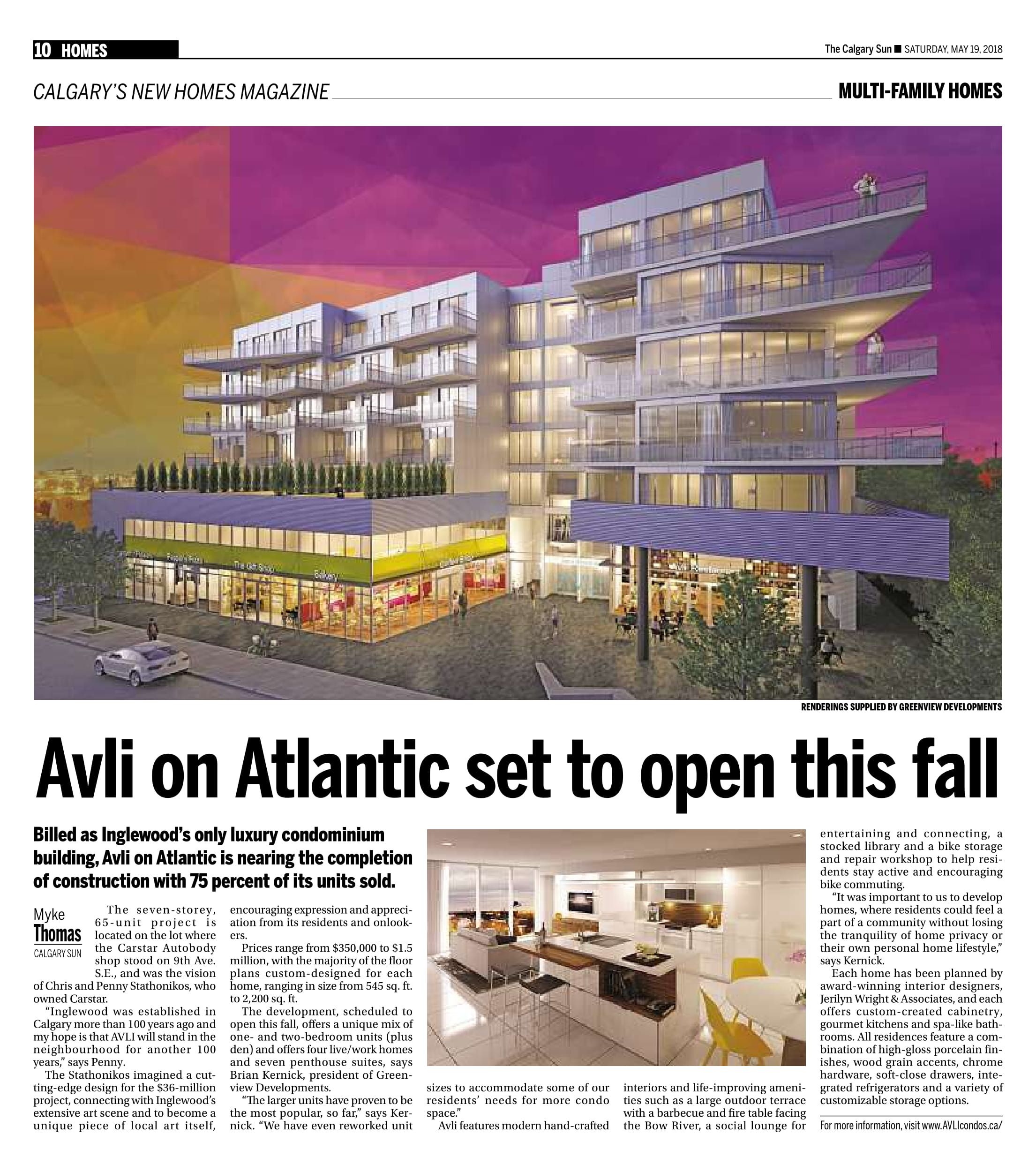 AVLI on Atlantic