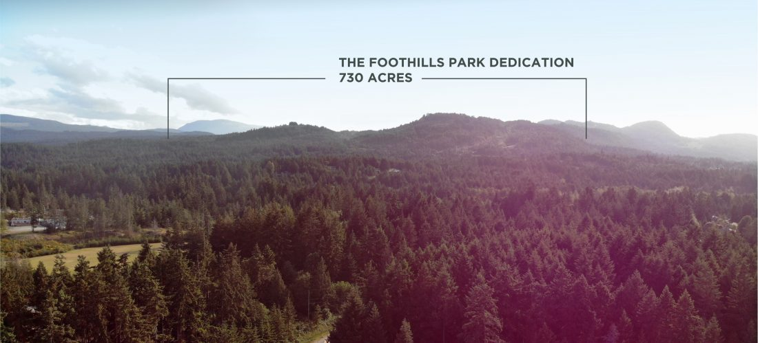 Foothills land donation