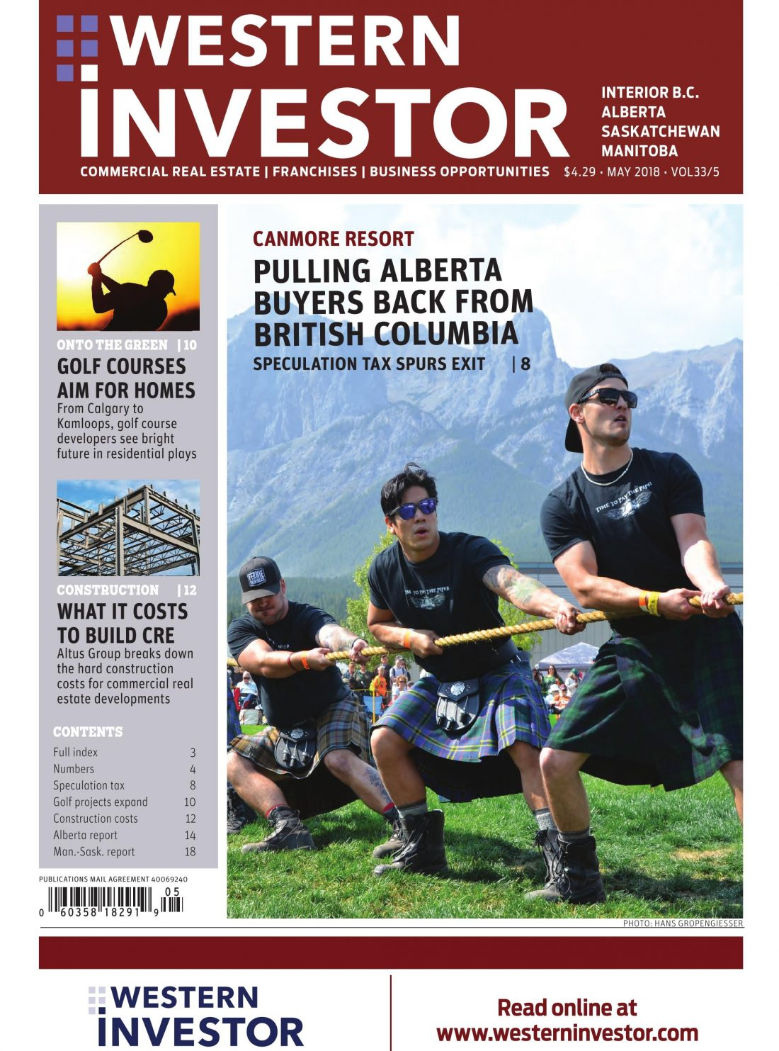 Western Investor Alberta edition front page