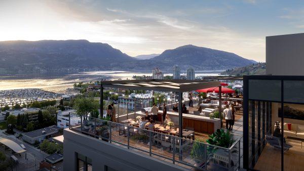Kelowna Rooftop Lounge